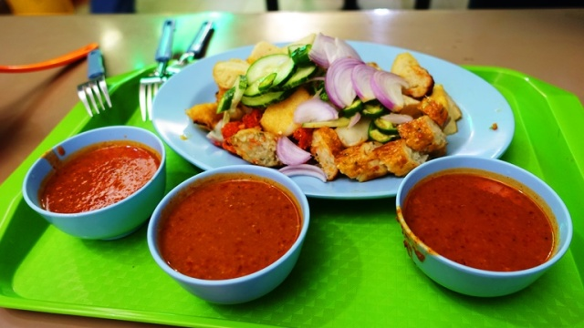 Indian Food, Singapore, Rojak