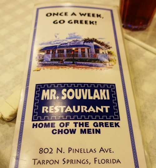 Greek Food, Tarpon Springs, Mr. Souvlaki