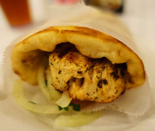 chicken Souvlaki, Tarpon Springs, Greek Cuisine