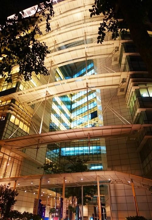 Singapore Library, Night shots