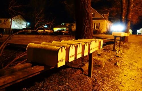 rural mail boxes, missouri,