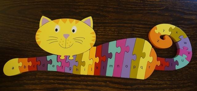 Cat Puzzle, ABC Puzzle