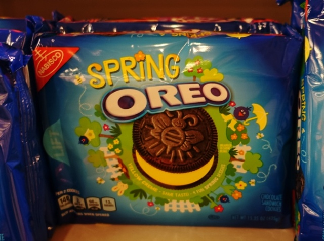 Oreos, Spring Oreo, Sign of spring