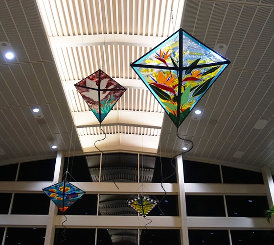Kites, Tampa airport, terminal train