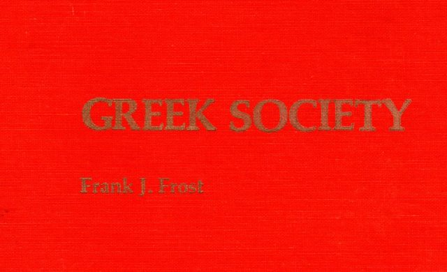 Greek Society, Frank J. Frost, Greek Culture