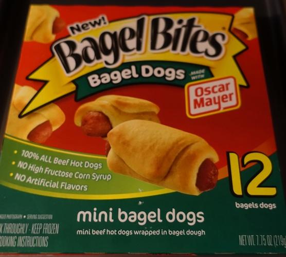 Bagel Dogs, Mini bagel dogs, pigs in a blanket