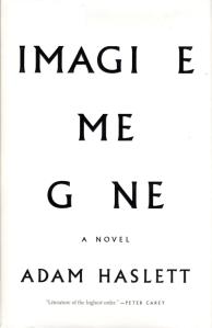 Imagine Me Gone, Adam Haslett, Pulitzer Finalist, 2017 Pulitzer Finalist