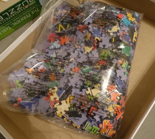 Puzzle, Puzzle Pieces, Doing a Puzzle