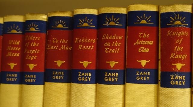 Walter J. Black Editions, Zane Grey, Books, Westerns