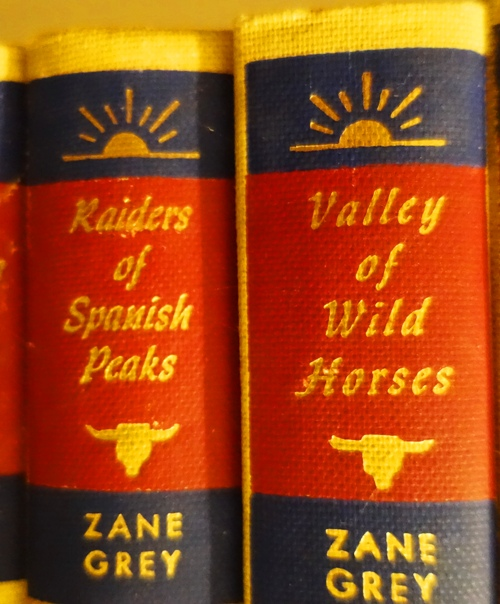Walter J. Black Editions, Zane Grey, Books, Westerns