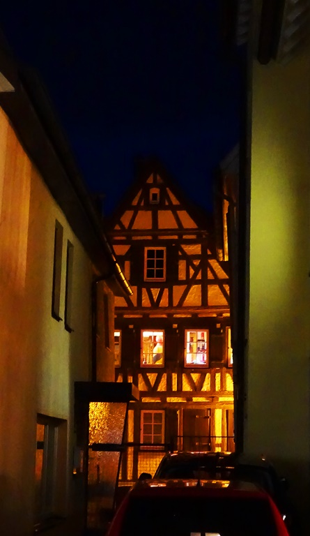 Half Timbered Houses, Aalen, Germany, Architecture