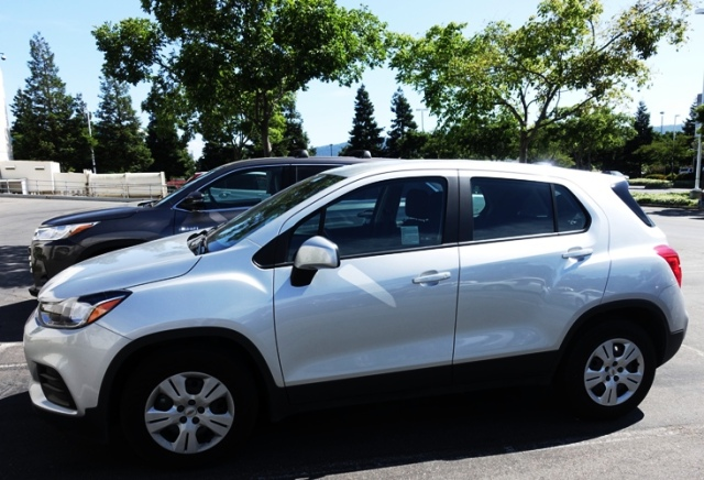 Test Drive, Chevy Trax, Courtesy Vehicle, Silver Trax