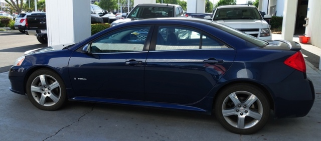 Pontiac G6 GXP, Blue Car, Auto Work