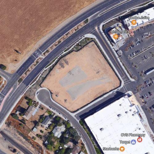 Construction Site, Cracker Barrel, California Cracker Barrel, Fresno, Herndon