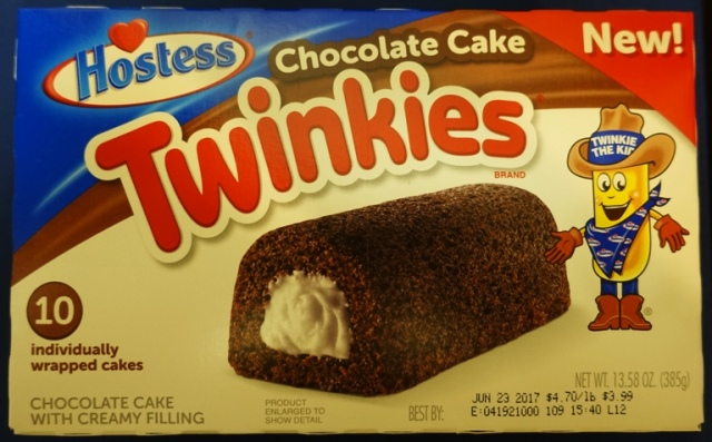 Chocolate Cake Twinkies, Twinkies, Hostess, Snack Cakes