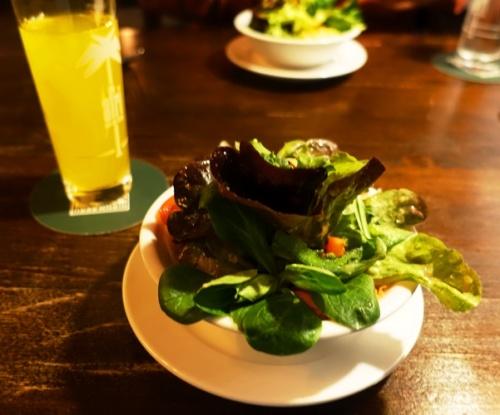 Dinner Salad, Vegetable salad, Aalen Bierhalle