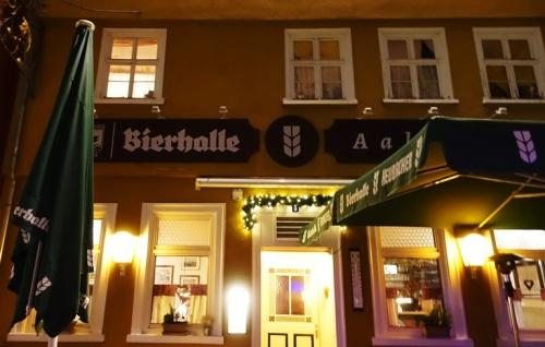 Aalen Germany, 330 year old restaurant, Swabian Food