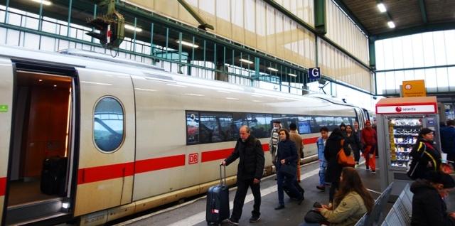 High Speed Train, ICE, Germany, Train System