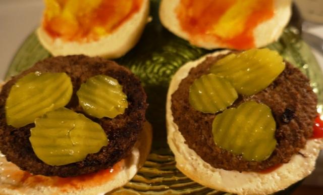 Basic Burger, National Burger Day, Ketchup, mustard, pickles