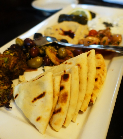 Appetizers, Mixed Plate, Lokanta Grill, Mediterranean Food, Pleasanton