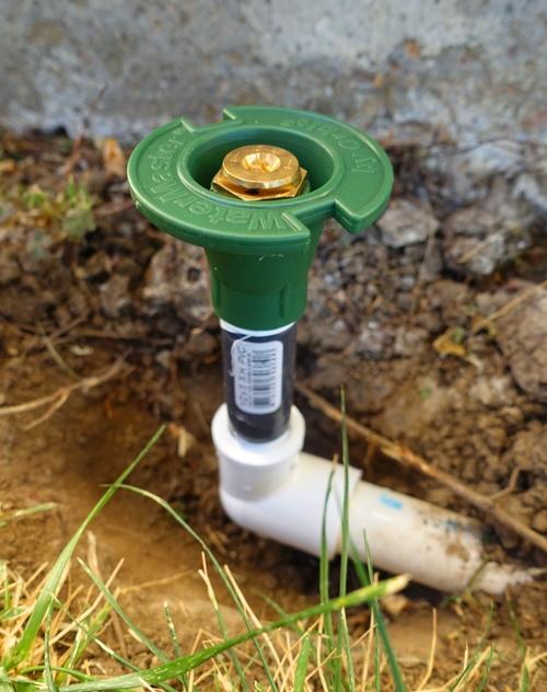 New Sprinkler, PVC Pipe repair, sprinkler repair, lawn watering