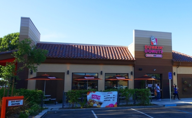 Dunkin Donuts, Tracy California, National Donut Day