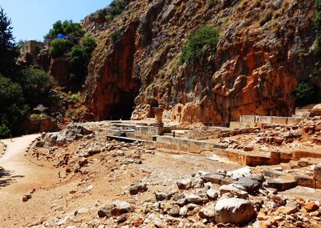 Cultic Center, Caesarea Philippi, Banai