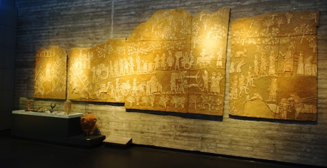 Israel Museum, Lachish Reliefs, Destruction of lachish