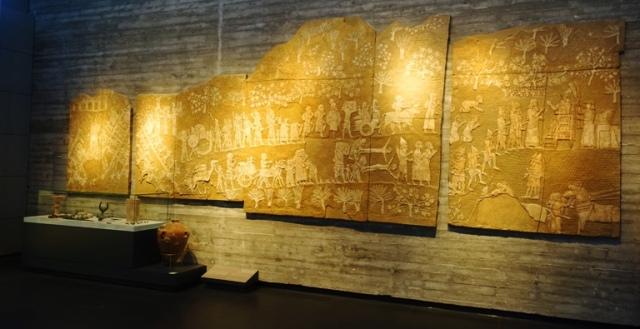 Israel Museum, Lachish Reliefs, Destruction of lachish
