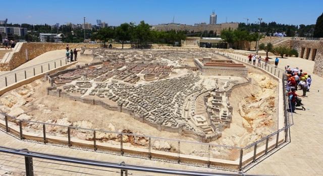Jerusalem Model, Israel Museum, Jerusalem