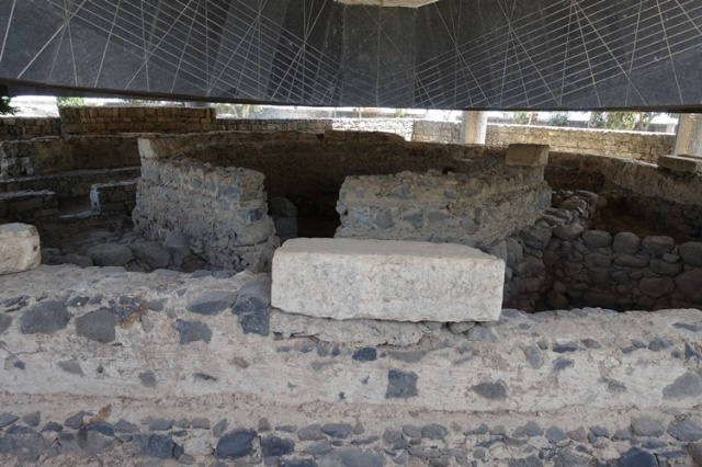 Capernaum, Peter's House, Archaeology