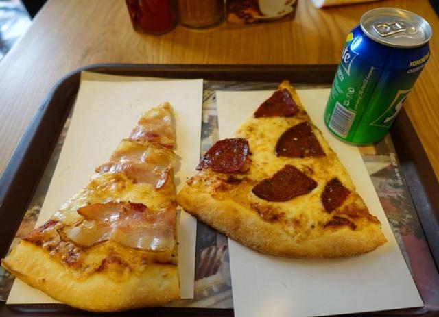 Bacon Pizza, Jacob's Pizza Jerusalem