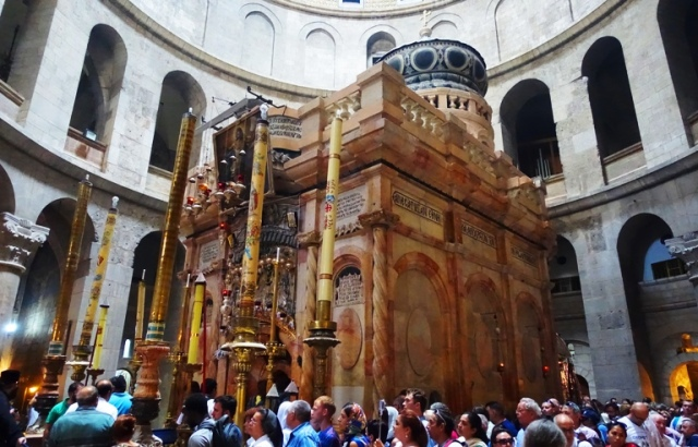 Edicule, Church of the Holy Sepulchre, Jerusalem, Tomb of Christ