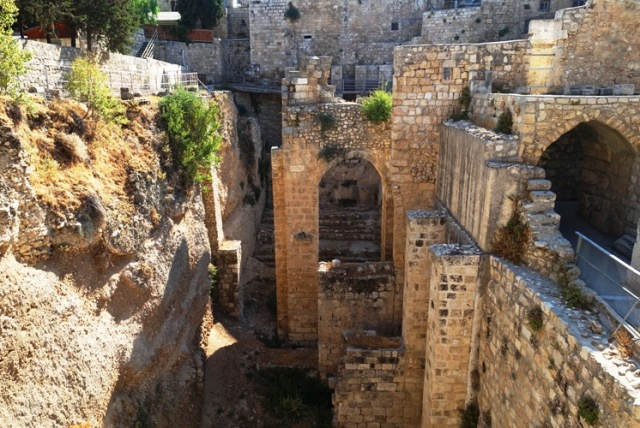 Pools of Bethesda, Jerusalem, Church of St. Anne