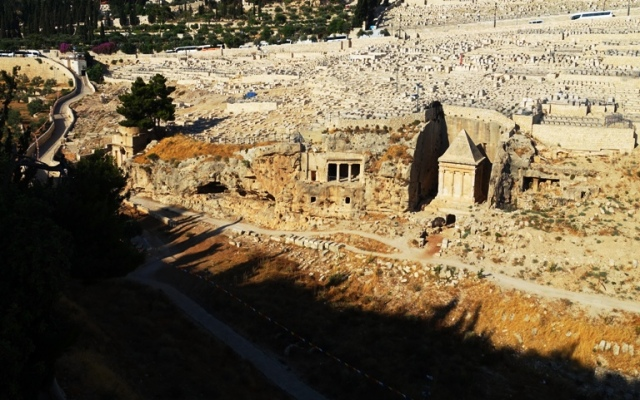 Kidron Valley, Jerusalem, Tombs