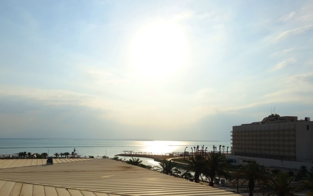 Dead Sea in the morning, Sunrise