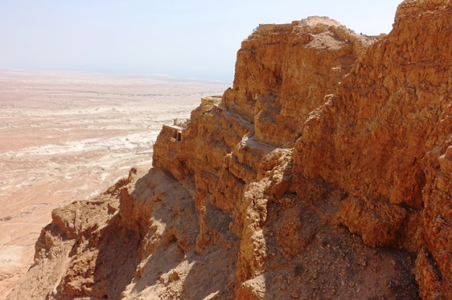 North end of Masada, Herod, King Herod