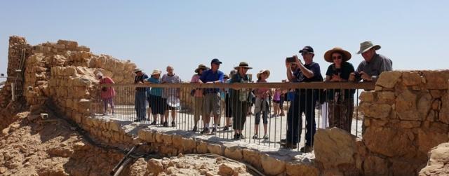 Masada, Israel, Tour