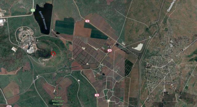 Merom Golan, Israel, Syria, Al Qunaitra, DMZ