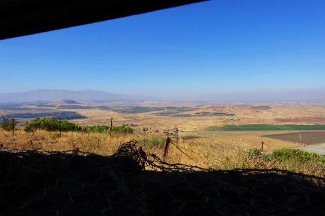 bunkers, syria, Israel, Golan Heights