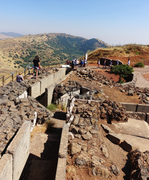 Trenches, Lookout, Gorem Golan, Syrian Conflict