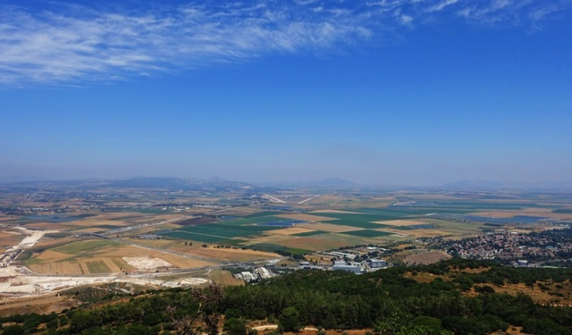 Mt. Carmel, Jezreel Valley