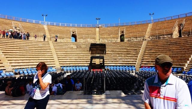 Ceasarea Maritima, Theatre, Herod Agrippa