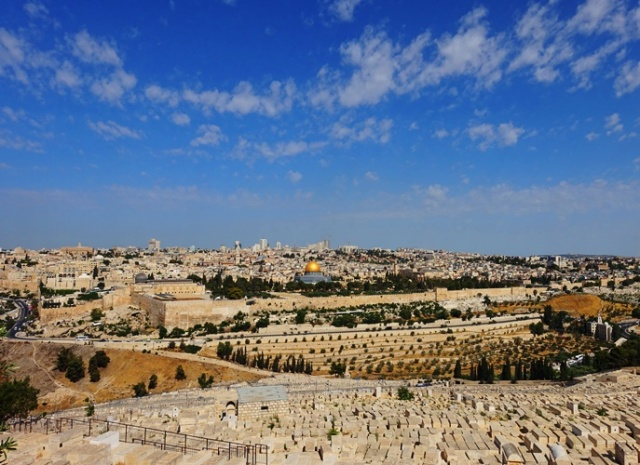 Jerusalem from Mount of Olives
