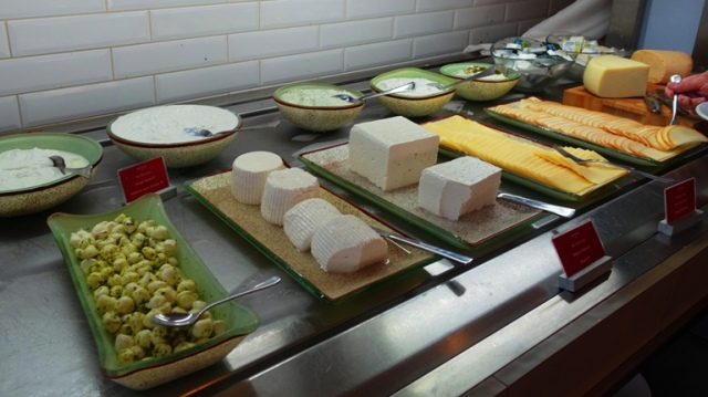 cheese buffet, leonardo, Ashkelon, Israel