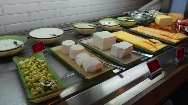 cheese buffet, leonardo, Ashkelon, Israel