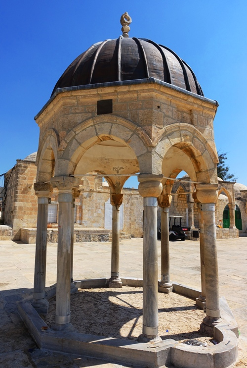 Dome of tablets, Temple Mount, Foundation Stone?, Eastern Gate, Jerusalem, Temple