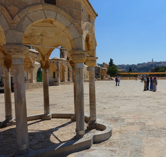 Dome of Tablets, Alignment with Eastern Gate, Foundation Stone, Temple Mount, Jerusalem