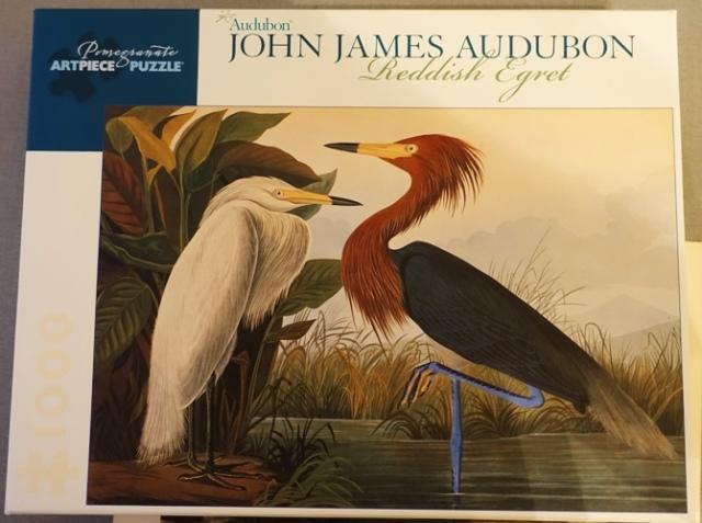 Puzzle, Jigsaw puzzle Audubon, Egret