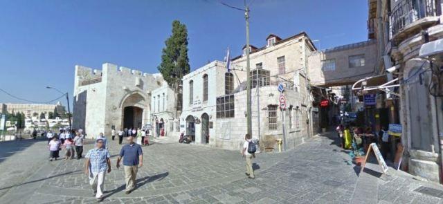 Jacob's Pizza, Jaffa Gate, Jerusalem, non-kosher Pizza